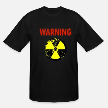 Nuclear Power Warning about nuclear power - Men's Tall T-Shirt