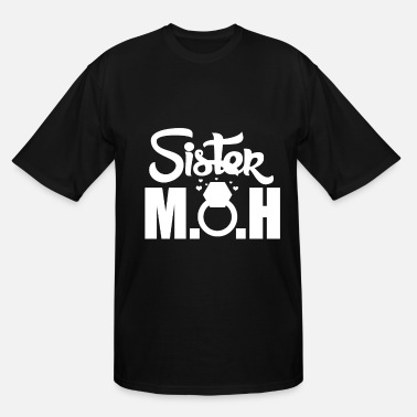 Altar Bride Sister Maid of Honor - Men's Tall T-Shirt