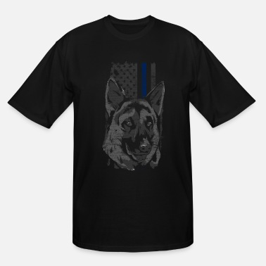 Police Dog Police Police Dog - Men's Tall T-Shirt
