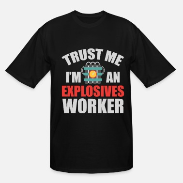 Sheriff Explosive Worker Bomb Disposal Expert Funny Gift - Men's Tall T-Shirt