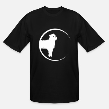 Silhouette monkey pinscher - Men's Tall T-Shirt