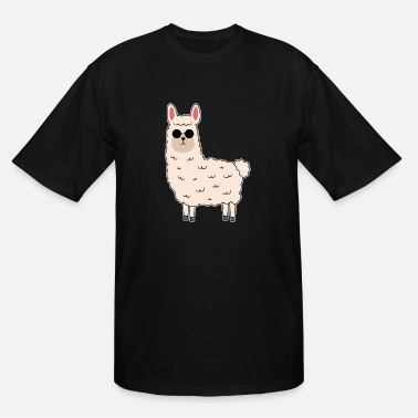 South Africa Alpaca Llama Hipster Jungle Animal Zoo Africa gift - Men's Tall T-Shirt