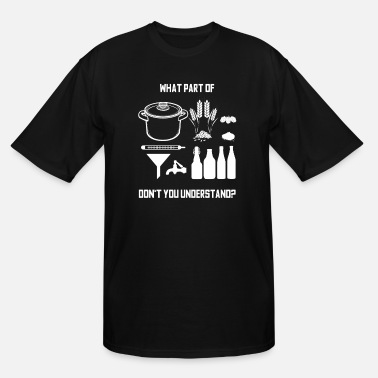 Beer Brewmaster Brewery Beer Brewing Homebrewing Gift - Men's Tall T-Shirt
