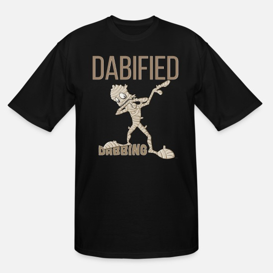 Mummy T-Shirts - Dabified Mummy - Men's Tall T-Shirt black
