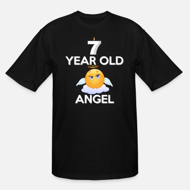 Years Old 7 Year Old Angel - Men's Tall T-Shirt
