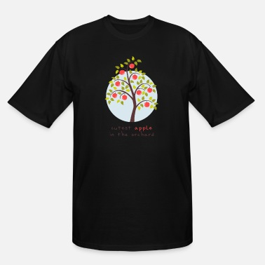 Orchard Adorable kids - Cutest Apple In The Orchard - Men's Tall T-Shirt