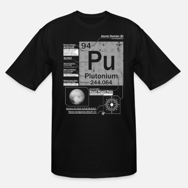 Plutonium Plutonium t shirt - Men's Tall T-Shirt