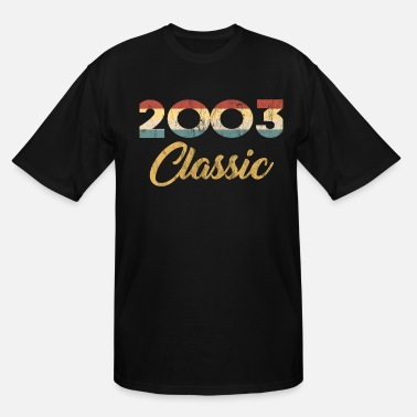 Celebration 16th Birthday Gift for Boys And Girls 2003 - Men's Tall T-Shirt