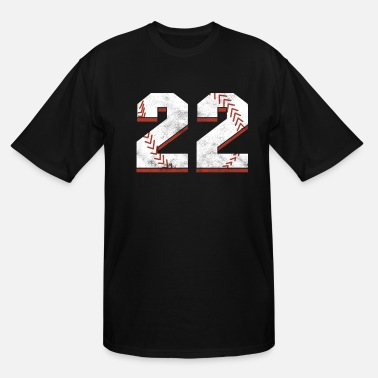 Occasion Baseball 22 th Birthday Celebration Sports Gift - Men's Tall T-Shirt