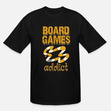 Dice Board Games Gambling Gift Play Cards Dice - Men's Tall T-Shirt