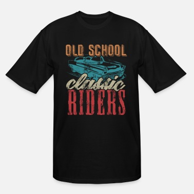 Caribbean Old School classic Riders - Men's Tall T-Shirt