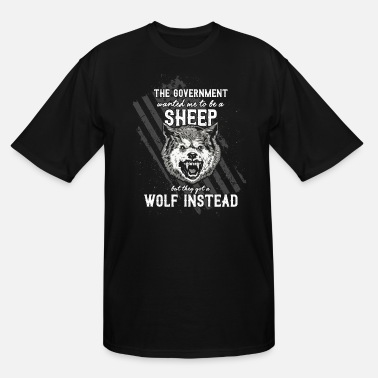 Government The government wanted a sheep - Men's Tall T-Shirt