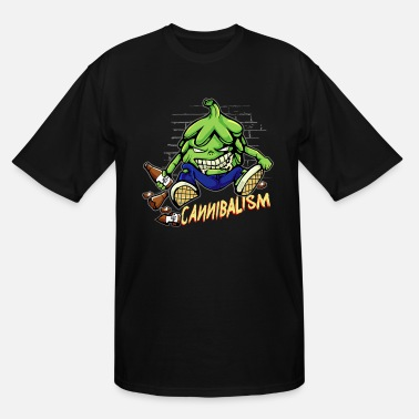 Hop Craft Beer Drinking Hops Cannibalism Cool - Men's Tall T-Shirt