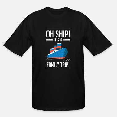 Family Cruise Ship Family Trip Vacation Gift - Men's Tall T-Shirt