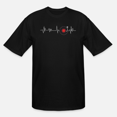 Vinyl Vinyl Heartbeat - Men's Tall T-Shirt