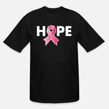 Target Breast cancer awareness hope - Men's Tall T-Shirt