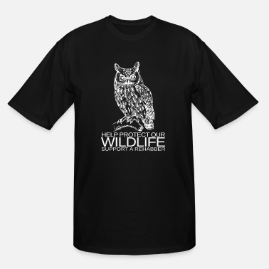 Rehabb WILDLIFE REHABBER - Men's Tall T-Shirt