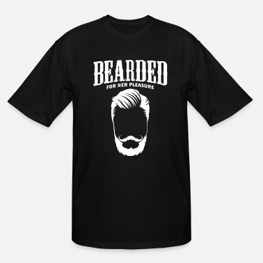 Facial Expressions Bearded for her pleasure - Men's Tall T-Shirt