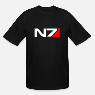 Mass Effect Mass Effect N7 - Men's Tall T-Shirt