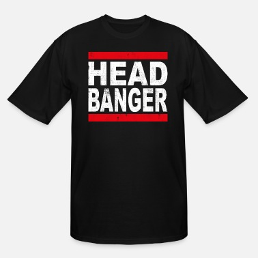 Headbanging HEADBANGER - Men's Tall T-Shirt