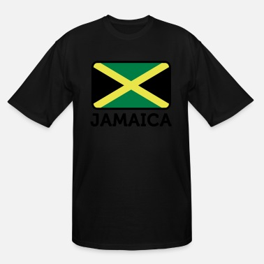 Championnat Flag Jamaica 2 (3c)++ - Men's Tall T-Shirt