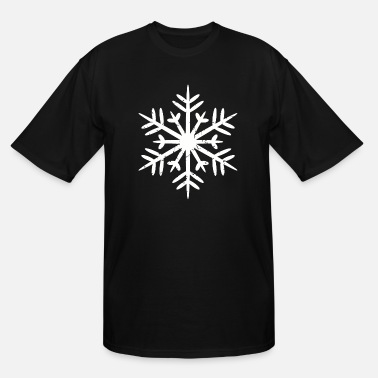 Snowflake Snowflakes - Men's Tall T-Shirt