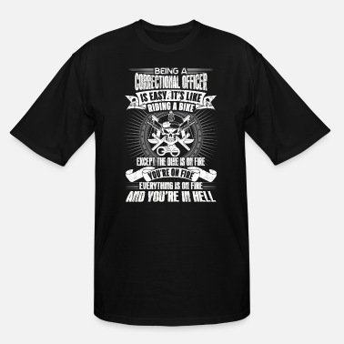 Correctional Officer Do It correctional officer funny, correctional officer, - Men's Tall T-Shirt