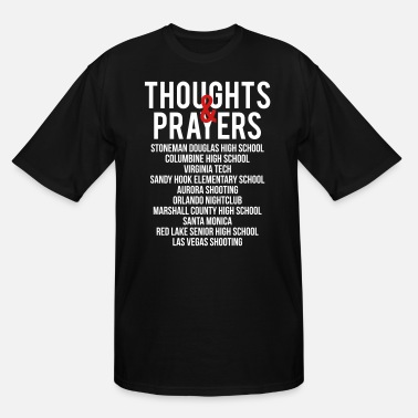 Epidemic Thoughts and Prayers - Men's Tall T-Shirt