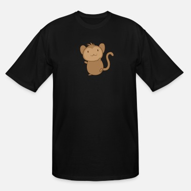 Ape Baby monkey - Men's Tall T-Shirt