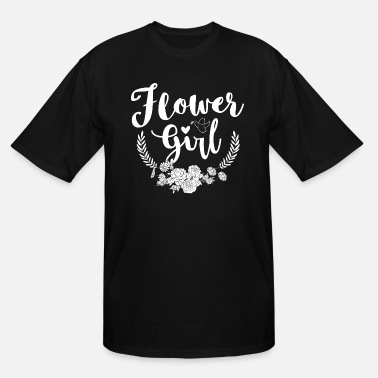 Wedding Receptions Flower Girl Wedding Reception Bridesmaid Ceremony - Men's Tall T-Shirt