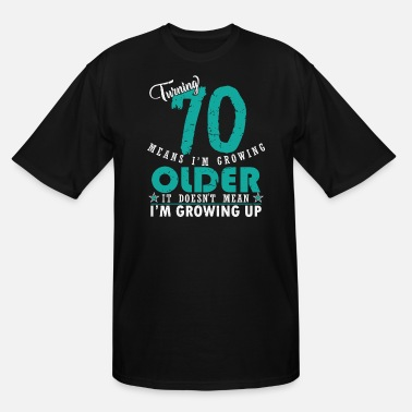 70th Birthday 70th birthday - Men's Tall T-Shirt