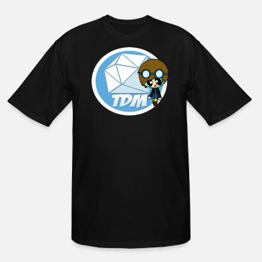 Fan Club Fans DAN TDM Minecart Fan Club - Men's Tall T-Shirt