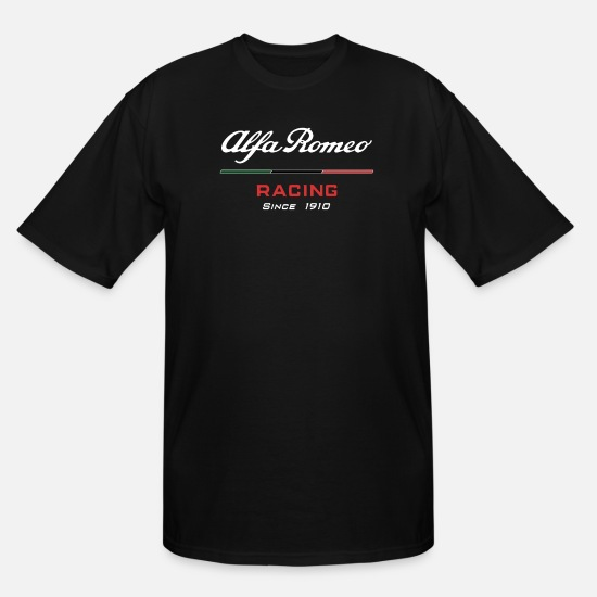 Romeo T-Shirts - Alfa Romeo Racing logo - Men's Tall T-Shirt black