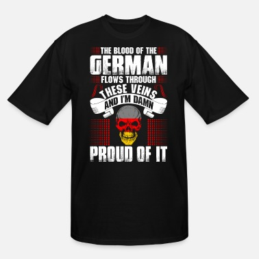 Germanic The Blood Of The German Proud Of It - Men's Tall T-Shirt