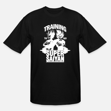 Training Training To Go Super Saiyan T-shirt - Men's Tall T-Shirt
