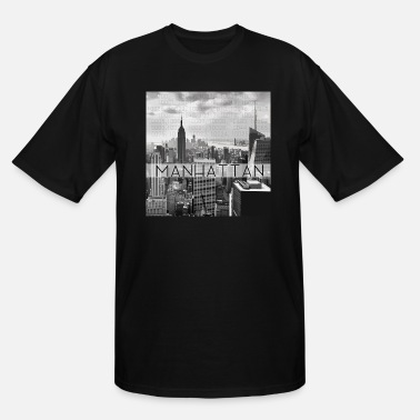 Manhattan Manhattan Zip Codes Grey - Men's Tall T-Shirt