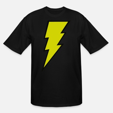 Lightning The Blitz Bolt - Men's Tall T-Shirt