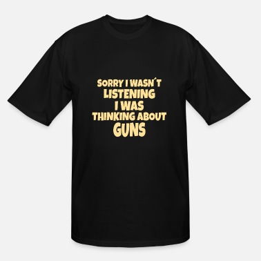 Pro PRO GUN / 2ND AMENDMENT: thinking about Guns - Men's Tall T-Shirt