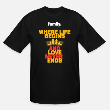 Funny Family Family - Men's Tall T-Shirt