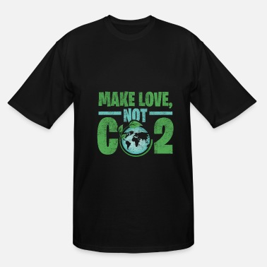 Carbon Dioxide Earth carbon dioxide gift environment - Men's Tall T-Shirt