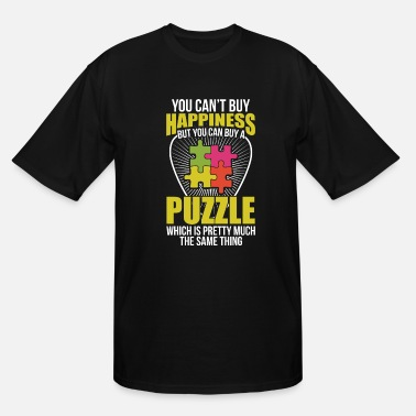 Puzzle Puzzle Luck - Men's Tall T-Shirt