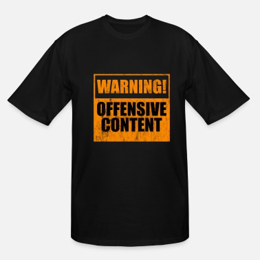 Insulting caveat insulting - Men's Tall T-Shirt