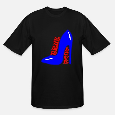 Highheels Cool true love shoes - Men's Tall T-Shirt