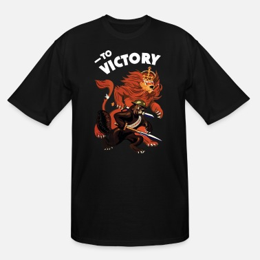 To Victory WW2 - Men's Tall T-Shirt