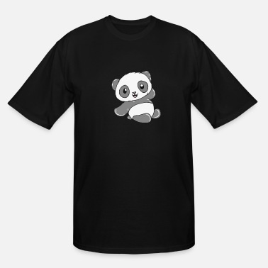 China Panda - Men's Tall T-Shirt