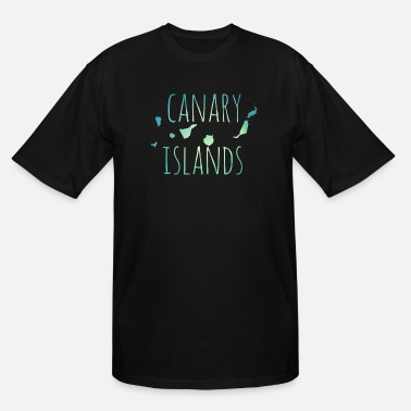 Canary Islands Canary Islands - Men's Tall T-Shirt