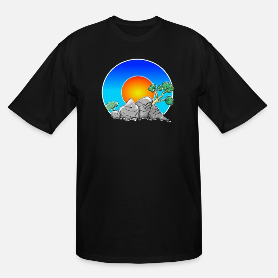 Nature T-Shirts - Nature - Men's Tall T-Shirt black