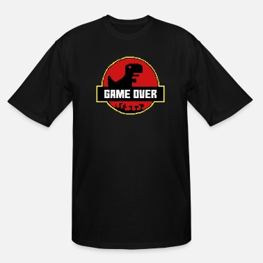 Pixel Game Over Park - Men's Tall T-Shirt