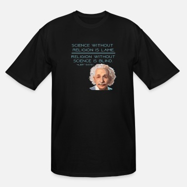 Religion Science and Religion - Men's Tall T-Shirt