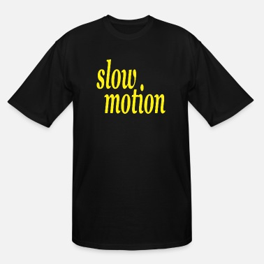 Motion slow motion - Men's Tall T-Shirt